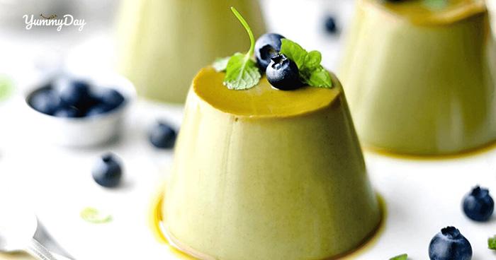 Bánh flan trà xanh với cách làm thơm ngon thanh mát tại nhà