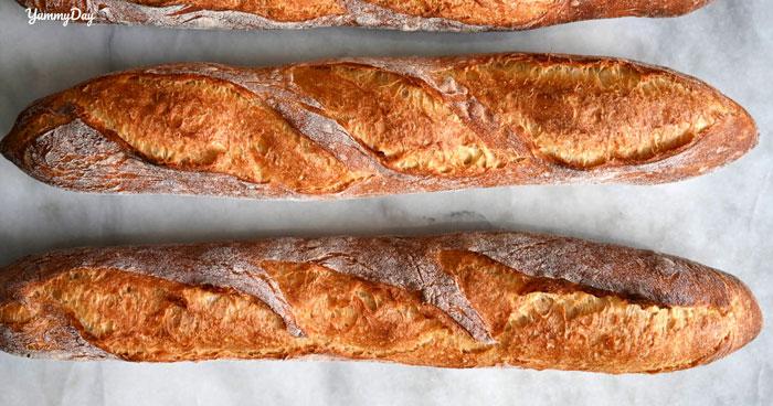 Thử tài làm bánh mì baguette đặc trưng của nền ẩm thực Pháp