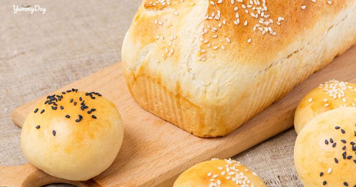 Cách làm bánh mì bơ sữa thơm mịn béo ngậy ai ăn vào cũng mê