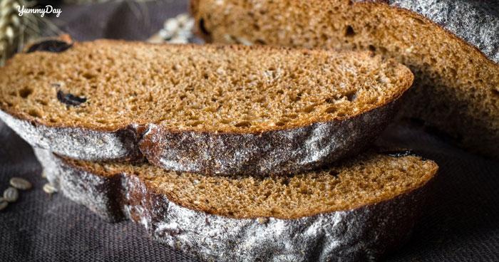 Bánh mì đen và những lợi ích tuyệt vời từ loại bánh mì này