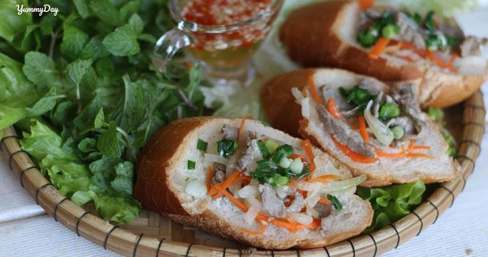 Cách làm bánh mì hấp mỡ hành và thịt ngon, ăn no căng bụng