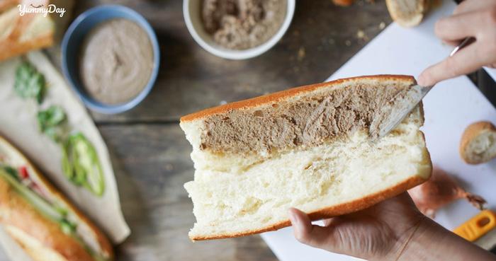 Hướng dẫn tự làm bánh mì pate siêu ngon, cực kỳ chất lượng