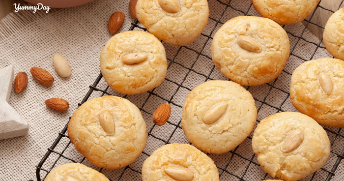 Cách làm bánh quy hạnh nhân vàng thơm xốp giòn ai ai cũng thích