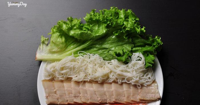 Hướng dẫn làm bánh tráng cuốn thịt heo ngon chuẩn vị Đà Nẵng