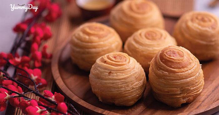 Cách làm bánh trung thu ngàn lớp nhìn siêu đẹp ăn siêu ngon