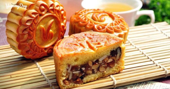 Cách làm bánh trung thu thập cẩm đặc sắc đẹp mắt