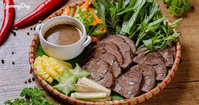 Cách chế biến món bắp bò hấp gừng thơm ngon trọn vị