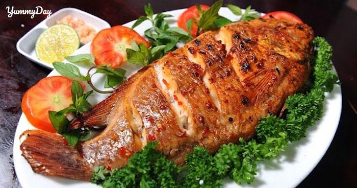 Trổ tài cá bò da nướng muối ớt thơm ngon hấp dẫn