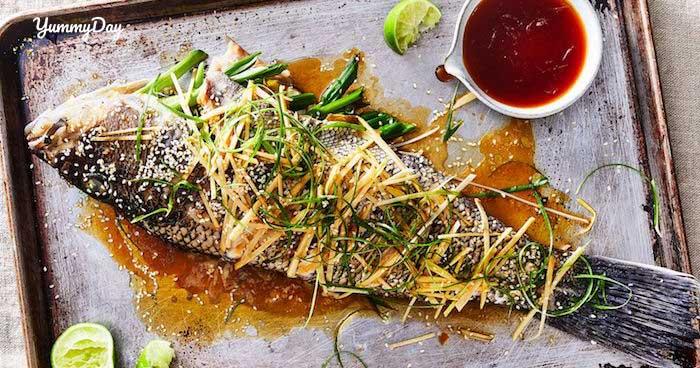 Cá chép hấp xì dầu đổi khẩu vị cho bữa cơm của gia đình bạn
