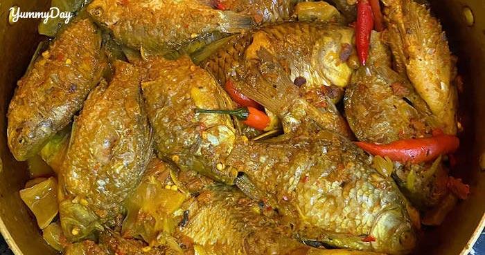 Cá diếc kho khế chua và kiểu biến tấu với cá rục xương hấp dẫn