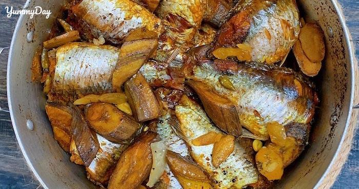 Cách làm cá diếc kho riềng thơm ngon đơn giản tại nhà