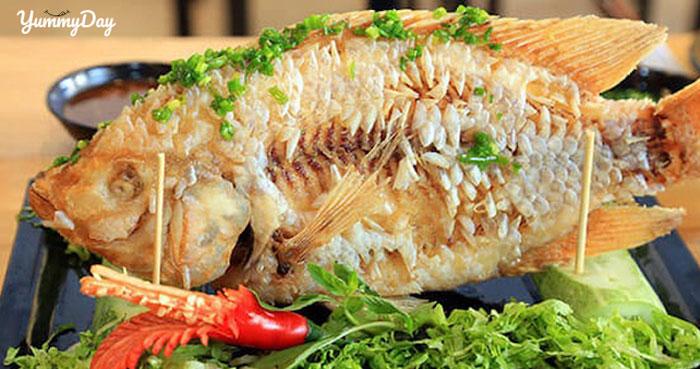 Khám phá vị ngon hấp dẫn từ món cá diêu hồng chiên xù