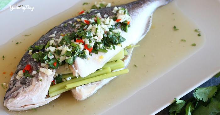 Cách làm cá hấp sả hay hấp gừng vị ngon dân dã ai cũng mê