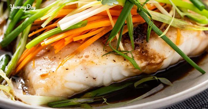 Cách làm cá hấp xì dầu cắn miếng đầu đã thấy rất gì này nọ