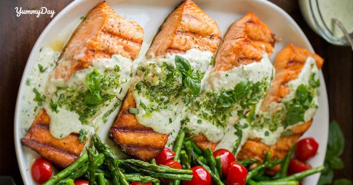 Cách làm cá hồi nướng phô mai thơm ngon béo ngậy ngất ngây