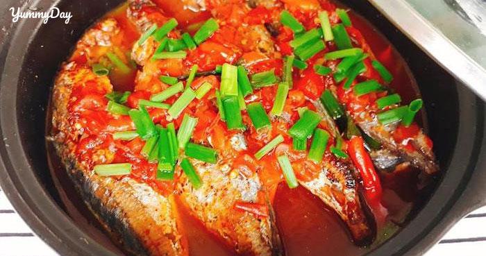 Cách làm cá nục kho cà chua, bữa cơm nào cũng hết