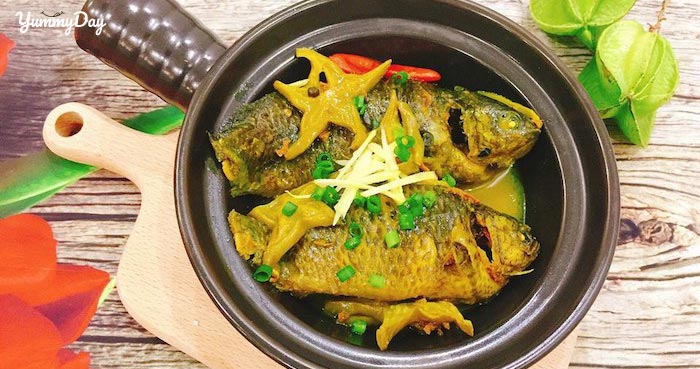 Cách làm cá rô kho khế mang đậm hương vị truyền thống