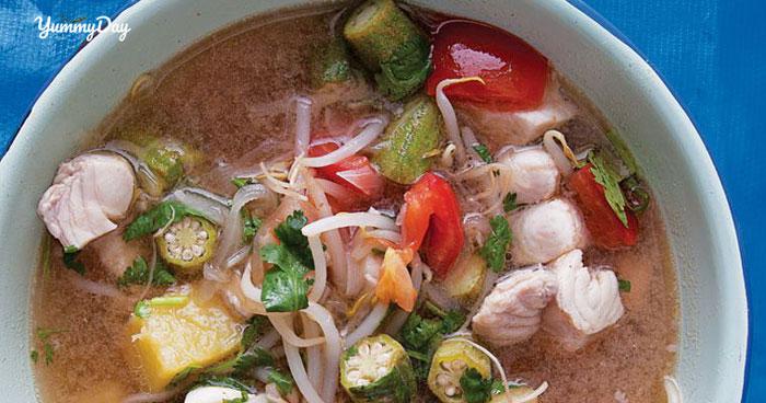Cách làm món canh chua cá thu siêu ngon đơn giản