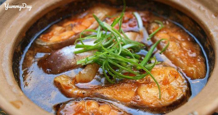 Cá trắm kho riềng đặc biệt thơm ngon ăn là ghiền