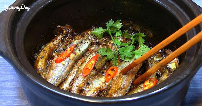 Cách làm cá trứng kho tiêu và kho cà thơm ngon ngất ngây