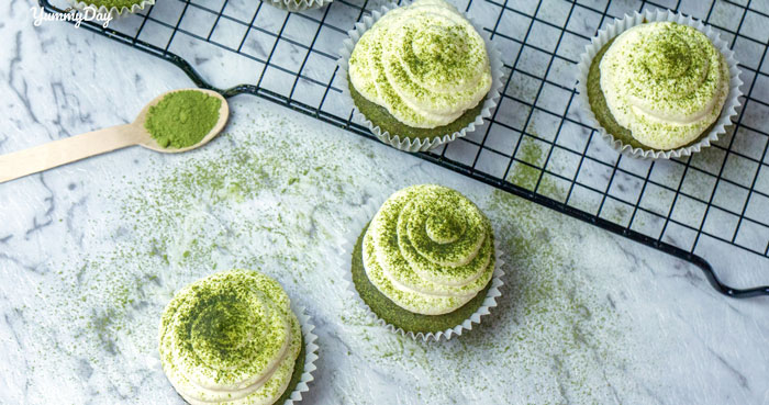 Cách làm bánh cupcake trà xanh ngon tuyệt đỉnh