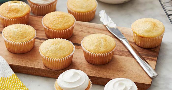 Cách làm bánh cupcake đơn giản mà thơm ngon vô cùng