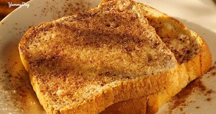 Cách làm bánh mì bơ đường không cần lò nướng ngon đắm đuối