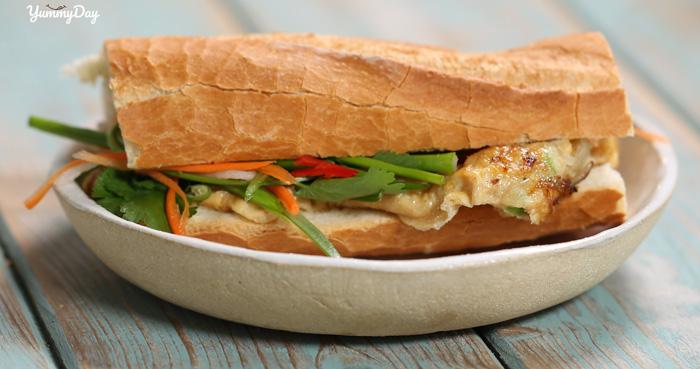 Hướng dẫn cách làm bánh mì pate trứng thơm ngon, bổ dưỡng