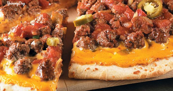 Đổi khẩu vị với cách làm bánh pizza bò cực thơm ngon và bổ dưỡng