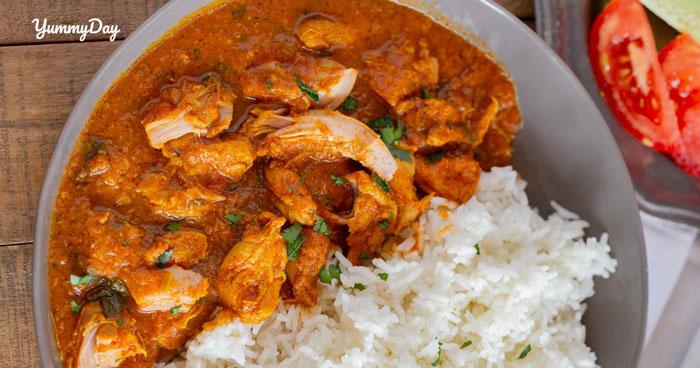 Cách nấu cà ri gà Ấn Độ ngon si mê ăn quên luôn đường về