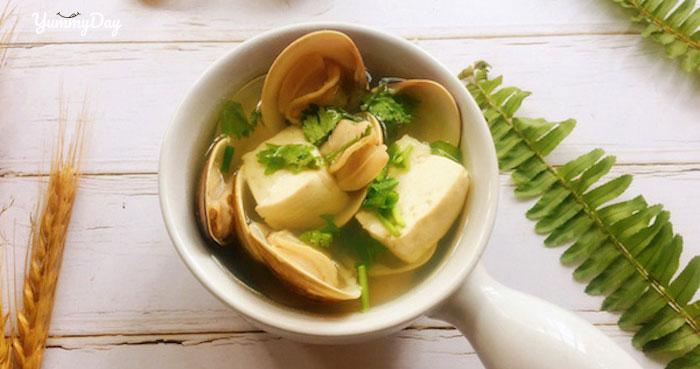2 cách nấu canh ngao đậu phụ ăn là ghiền cho cả gia đình bạn