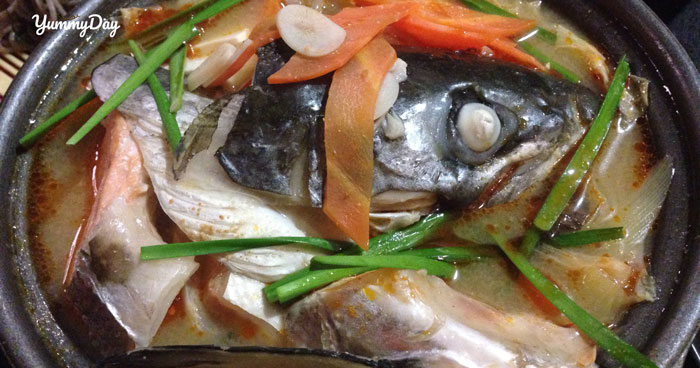 Cách nấu lẩu cá hồi măng chua ai thử qua cũng khen tấm tắc