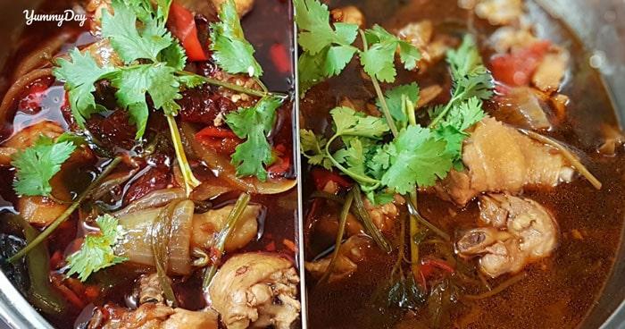 Bí kíp nấu lẩu gà nóng hổi thơm ngon chống ngán ngày Tết