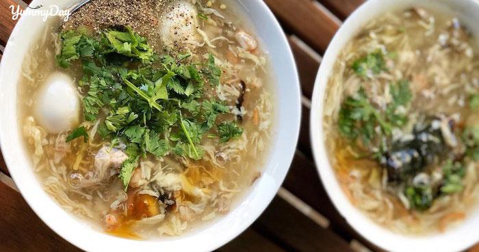 Cách nấu súp trứng cút đơn giản mà thơm ngon