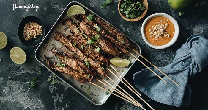 Cách ướp thịt bò nướng sa tế thơm ngon đậm vị ai ăn cũng mê