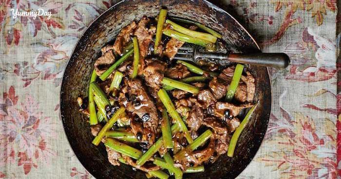 Cách xào thịt bò với cần tây cực đơn giản lại cực thơm ngon
