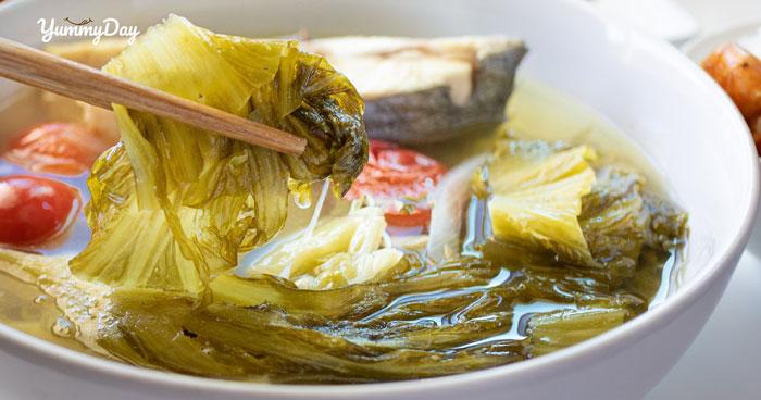 Cách nấu canh cá với nấu dưa chua siêu hấp dẫn ai cũng mê