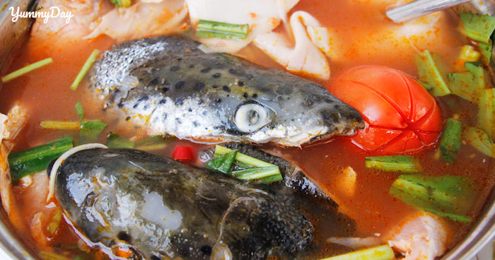 Thực đơn hấp dẫn tuần mới cùng với món canh cá nấu măng siêu ngon