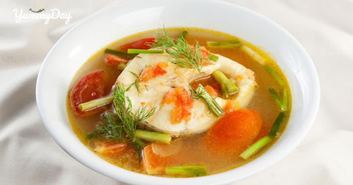 Cách làm canh cá nấu mẻ đậm chất riêng biệt thơm ngon bắt vị