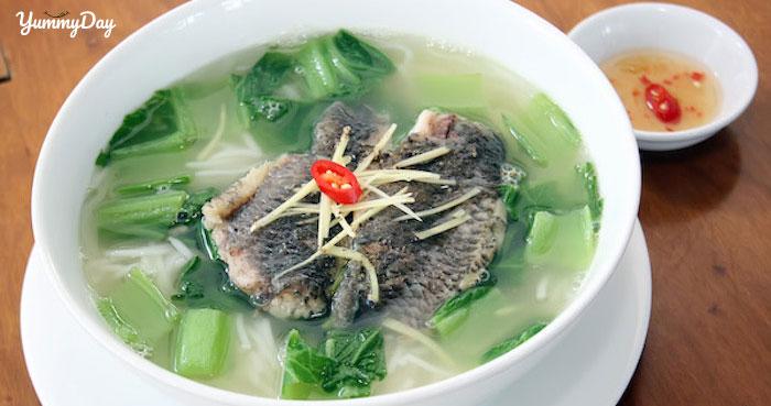 Cách nấu canh cá rô rau cải và rau ngót ngọt thanh không bị tanh