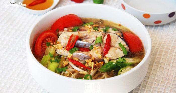 Hớp hồn cùng món canh chua cá bớp siêu phẩm chế biến chỉ 20 phút
