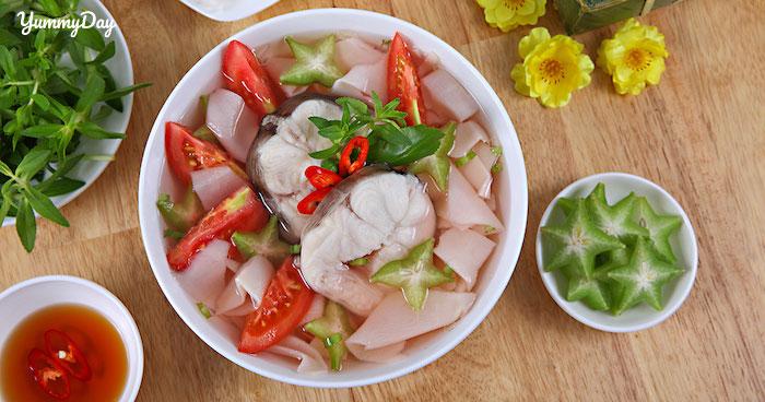 Bật mí bí quyết nấu món canh chua cá lăng ai ai cũng khen nức mũi