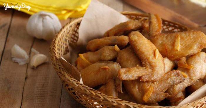 Các cách chế biến món cánh gà chiên bơ thơm ngon chuẩn vị