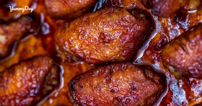 Cách làm cánh gà chiên mật ong giòn giòn ngọt ngọt cực đã