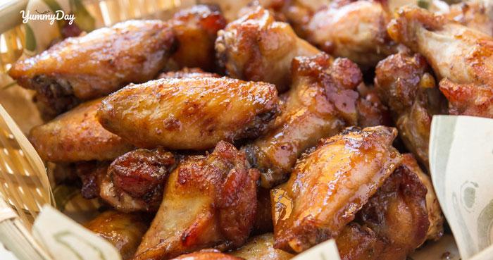 Cách làm cánh gà nướng mật ong và bơ tỏi đều ngon béo ngậy