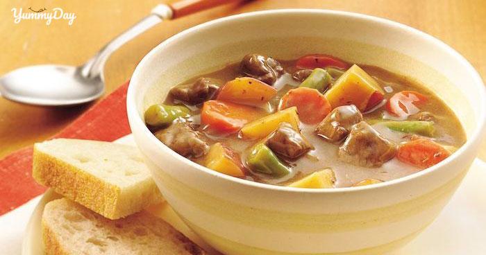 Cách nấu canh khoai tây thịt bò thơm ngon đơn giản tại nhà