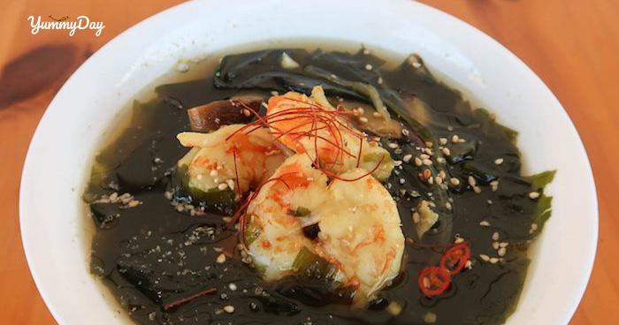 Bí quyết món canh rong biển nấu tôm thơm ngon không tanh