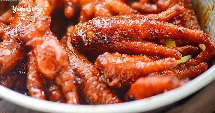 Chân gà hấp tàu xì - Món ngon chuẩn ẩm thực vị Trung Hoa