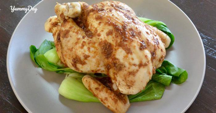 Bổ sung dinh dưỡng với cách làm gà hấp cải thìa hấp dẫn