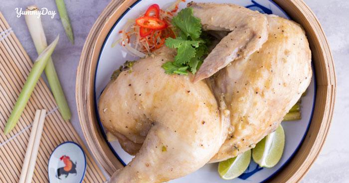 Cách làm gà hấp nước mắm nhĩ ăn vào là ghiền ăn vào là mê